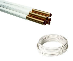 Pvc coated copper tubes exporter manufacturer supplier for Copper pipe vs pvc